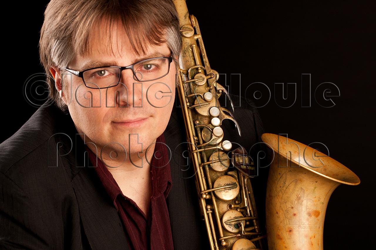 Alexandre Côté, saxophoniste