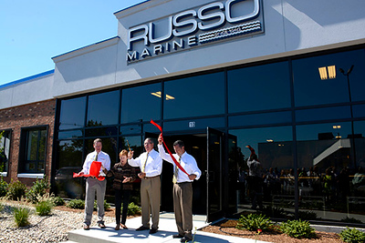 Larry and Bee Russo  Marine Grand Opening, Danvers, MA