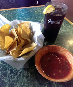Chips, Salsa and a Coke