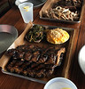 BBQ Kans Style Ribs and sides
