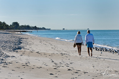 Couple on Naples Beach
