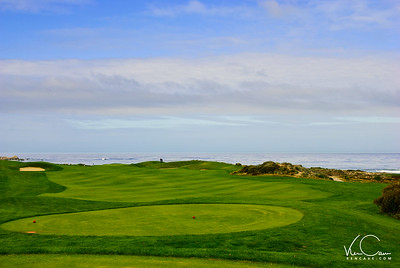 The Links at Spanish Bay Golf Course, Monterey Peninsula, California-1st Hole