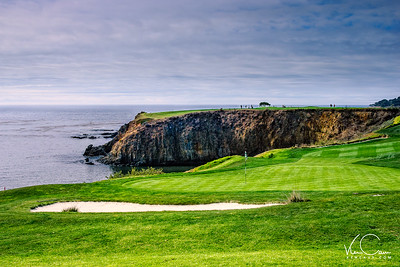 Pebble Beach Golf Links Monterey Peninsula California-8th Hole