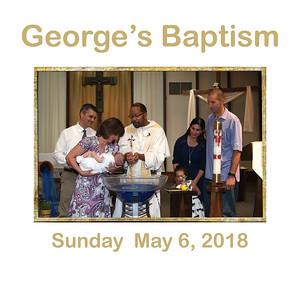 George's Baptism