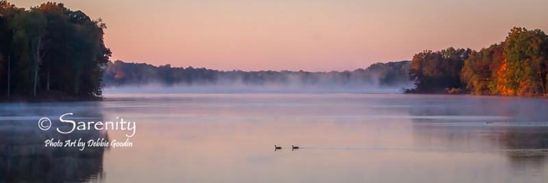 Tranquil Morning on Lake Kickapoo