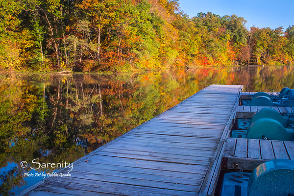 Paddle To Fall Colors