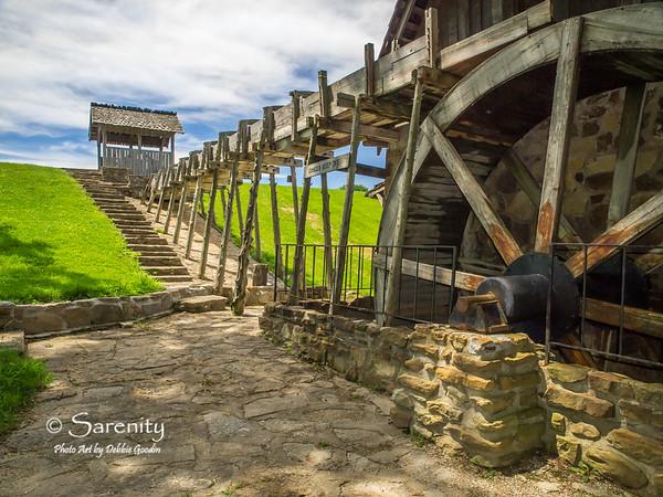 Gristmill, Fowler Park, Terre Haute, IN, Vigo County