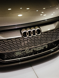 Details Audi E-Tron - Samuel Zeller for the New York Times