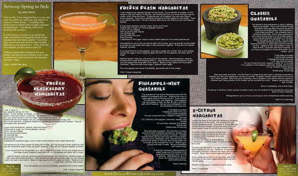 Lissa Wood's Margaritas & Guacamoles, New York, NY, DWJ April-May