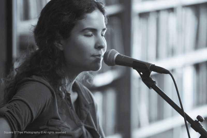 Iowa City, IA- Singer/songwriter Michelle Lynn performs at Uptown Bill's on Tuesday, June 12, 2012. (The Daily Iowan/Sumei Chen)