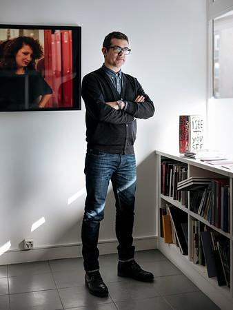 Sébastien Maret director at Art Bärtschi & Cie, art gallery in Geneva