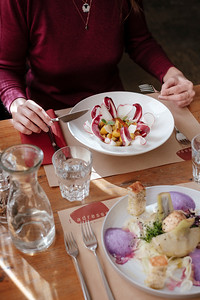 Food at L'Adresse Table and Wear Geneva