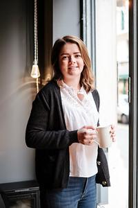 Portrait of Femke Delarive, owner