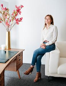 Livia Russo, Auctioneer, in her Geneva office - Samuel Zeller for The New York Times