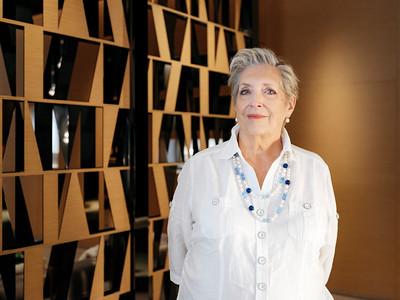 Jacqueline Dimier, in Audemars Piguet boutique, Geneva - Samuel Zeller for The New York Times