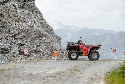 A quad in Verbier