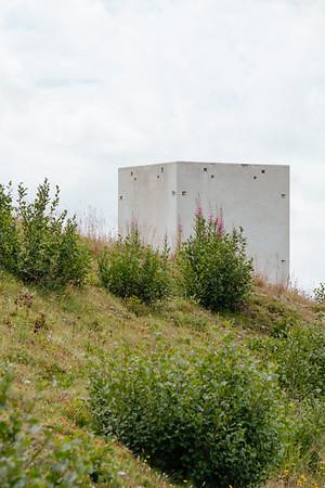 Art installation in Verbier