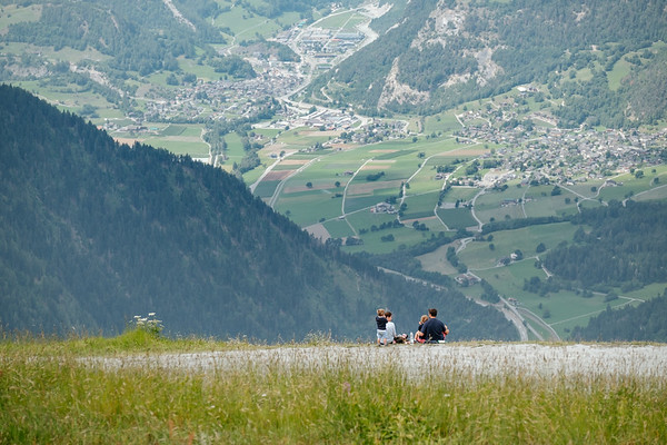 Enjoying Verbier in the summer