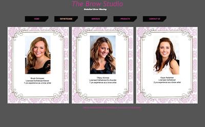 THE BROW STUDIO WEBSITE http://www.thebrowstudiompls.com/index.html