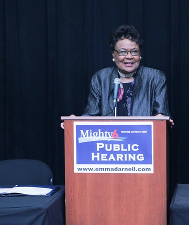 Commissioner Darnell's Public Hearing at Southwest Arts Center