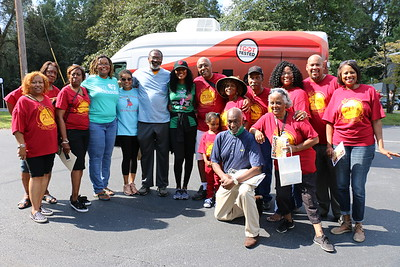 Commissioner Hall and Emmanuel Lutheran Day of Family Fun & Celebration