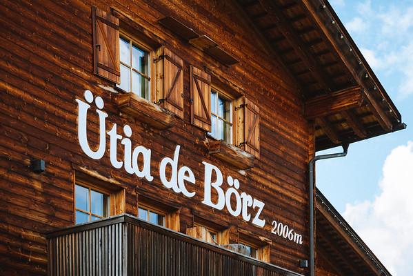 Ütia de Börz - exteriors detail  // Architecture, drone photography