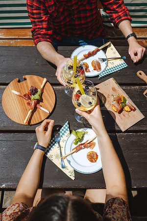 Ütia de Börz - lunch detail  // Food, lifestyle photography