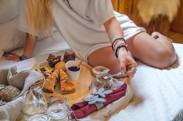 Borgo Antico Sappada - breakfast in bed<br /> <br /> // Interiors, lifestyle photography
