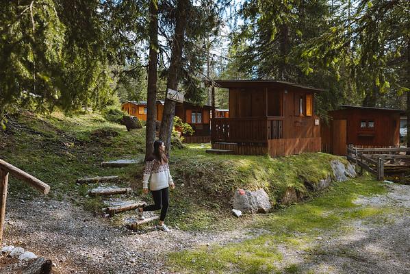 Camping Sass Dlacia - walking between the Ütie  // Outdoor photography