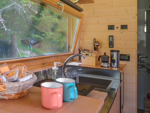 Friland - interiors detail, kitchen  // Interiors photography