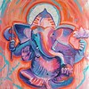 Whitetop Yoga Ganesha Orange