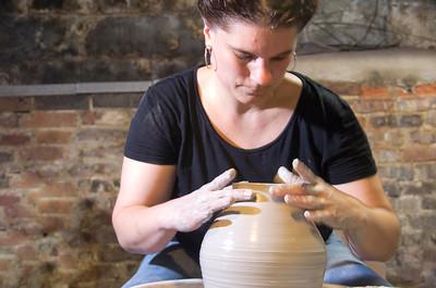 Becky's Pottery Shoot