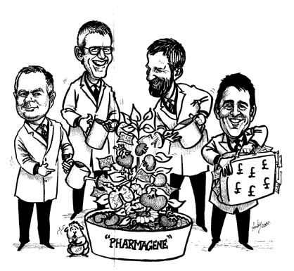 Grant harrison group caricature.