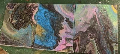 triptich (each 8X10) $50