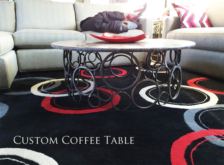 Custom Ring coffee table