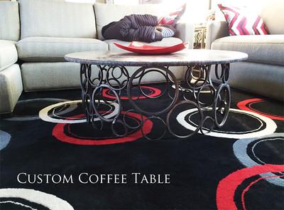 Custom Ring coffee table