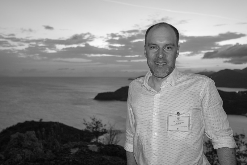 """Climate negotiations can be fascinating and frustrating, energising and deflating, but I can't think of anything I would rather be contributing to for the sake of my kids and the planet"", Damon, Climate Analytics, Saint Lucia"
