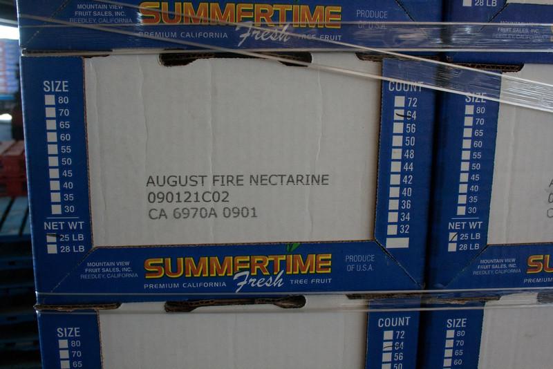 August Fire Nectarine