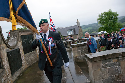 Selkirk Common Riding 2016 War Memorial Ceremony