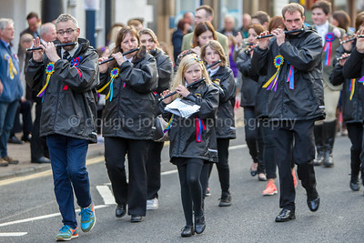 Selkirk Common Riding 2017 Procession to Victoria Hall