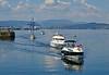 Commonwealth Flotilla Arriving at James Watt Dock Marina - 25 July 2014