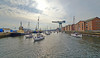 Last of the Commonwealth Flotilla Leaving James Watt Dock Marina - 26 July 2014