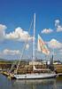 'Drum' at the Commonwealth Flotilla in James Watt Dock Marina - 25 July 2014