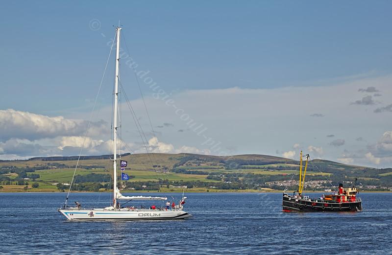 Commonwealth Flotilla Arriving Back at Greenock - 28 July 2014