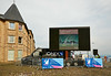 Big Screen for the Commonwealth Flotilla at Customhouse Quay - 26 July 2014