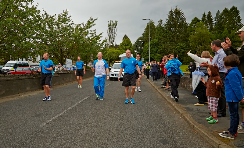 Baton Arrives in Quarriers Village - 14 July 2014