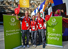 Enthusiastic Volunteers at the Glasgow Commonwealth Games - 23 July 2014