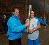 Handing Over the Baton at Newark Castle - 14 July 2014