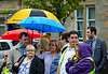 Patience in the Rain at Quarriers Village - 14 July 2014