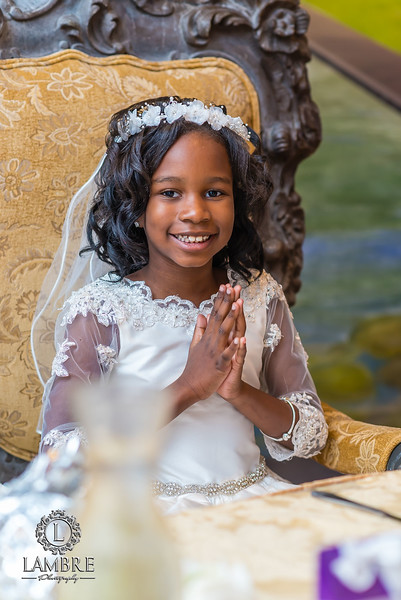 Nina's First communion party